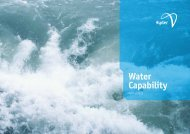 Water Capability - March 2013 - Hyder Consulting
