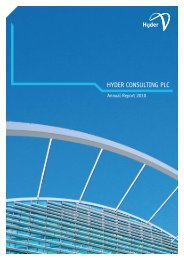 HYDER CONSULTING PLC