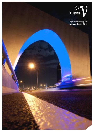 Hyder Consulting PLC Annual Report 2012