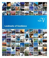 Landmarks of Excellence - Hyder Consulting