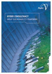 Hyder Group Sustainability Framework - Hyder Consulting