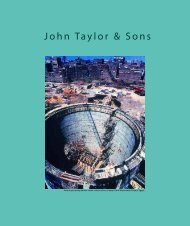 John Taylor & Sons - Hyder Consulting