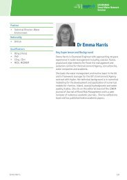 Dr Emma Harris - Hyder Consulting