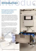 Evaporative Cooling brochure.indd - Hydor - Page 2