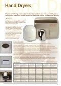 Washroom & Hygiene Product Range - Hydor - Page 7