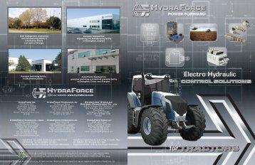 for TRACTORS - HydraForce