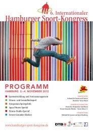 Fortsetzung Seite 12 und 13 - Internationaler Hamburger Sport ...