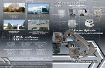 for Excavators - HydraForce