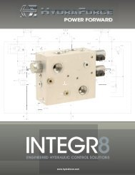 To Download INTEGR8 Catalog CLICK HERE - HydraForce