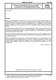 VDMA-Einheitsblatt - Hydraulischer Abgleich