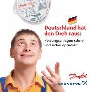 Deutschland hat den Dreh raus: - Hydraulischer Abgleich