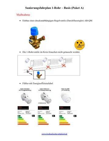 Basis - Hydraulischer Abgleich
