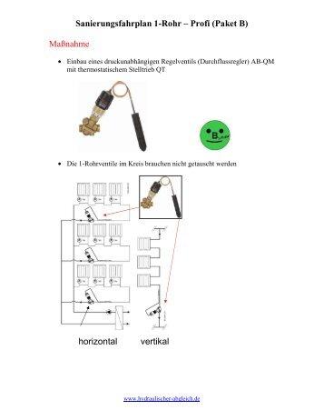 Profi B - Hydraulischer Abgleich