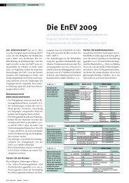 Die EnEV 2009 - Hydraulischer Abgleich