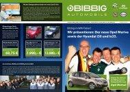 Der neue Opel Meriva! - Autohaus Bibbig Gmbh