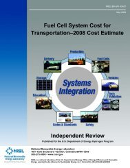 Fuel Cell System Cost for Transportation—2008 Cost Estimate