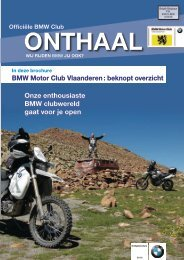 20% - BMW MC Vlaanderen!