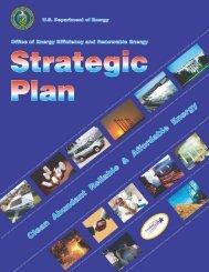 (EERE) Strategic Plan - DOE Hydrogen and Fuel Cells Program ...