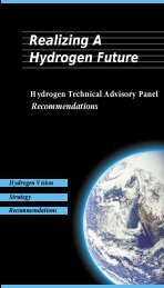 Realizing A Hydrogen Future - DOE Hydrogen and Fuel Cells ...