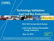 Technology Validation - DOE Hydrogen and Fuel Cells Program ...