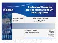 PDF 1.1 MB - DOE Hydrogen and Fuel Cells Program Home Page