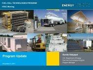Program Update - DOE Hydrogen and Fuel Cells Program Home ...