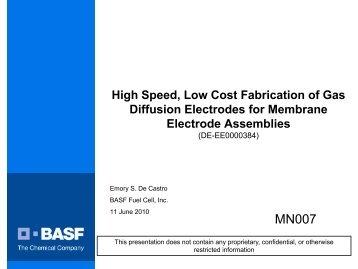 PDF 816 KB - DOE Hydrogen and Fuel Cells Program Home Page