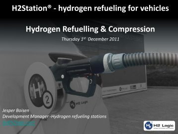 Hydrogen Refuelling & Compression