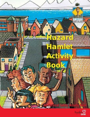 Hazard Hamlet Activity Book - Hydro One