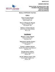 Medicare HOPPS/ASC Final Rule Editors Claire Turcotte, Esquire ...