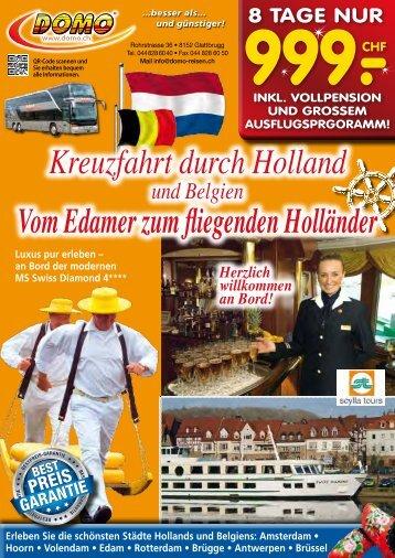 Kreuzfahrt durch Holland Vom Edamer zum ... - Domo Reisen