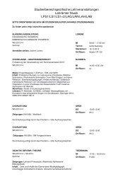 Lehramt alphabethisch - Hochschule für Musik Saar - Saarland