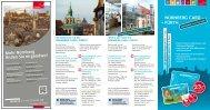 Nürnberg Card Info-Flyer - Tourismus Nürnberg