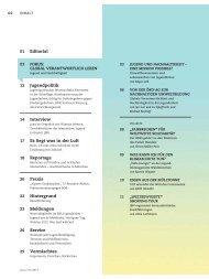 Jugend und Nachhaltigkeit Fokus 1-2013 - Bayerischer Jugendring