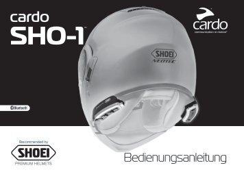 Bedienungsanleitung - Cardo Systems, Inc