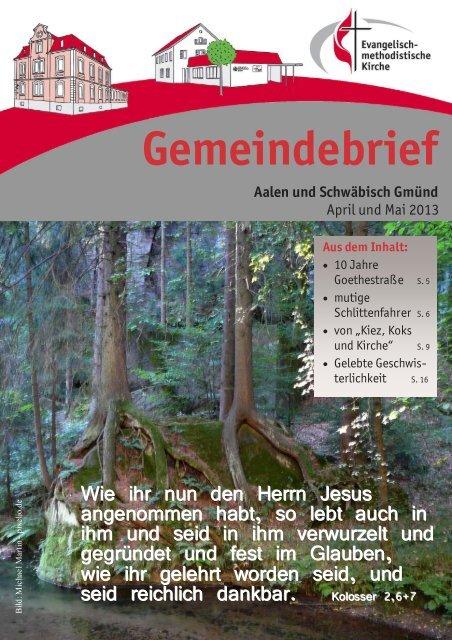 Gemeindebrief April & Mai 2013 - EmK