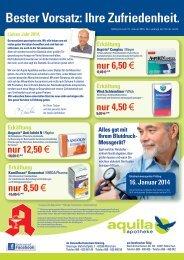 nur 8,95 € nur 6,90 € nur 14,95 € nur 6,50 - Aquila Apotheke