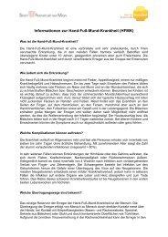 Informationen zur Hand-Fuß-Mund-Krankheit ... - Frankfurt am Main