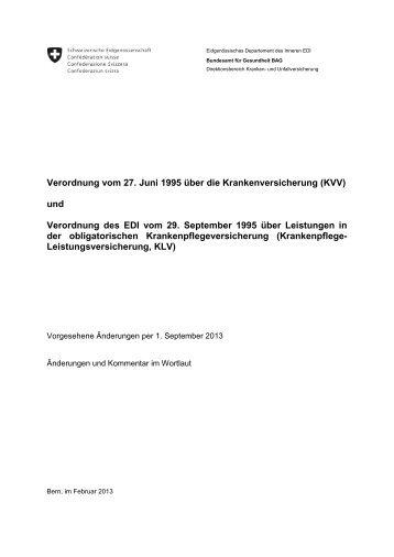Verordnung vom 27. Juni 1995 über die ... - admin.ch