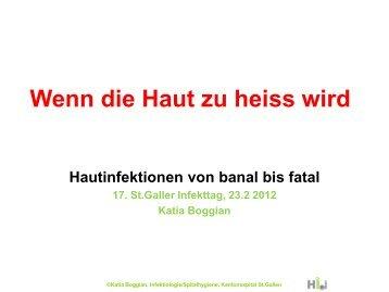 Vortrag Infekttag 2012 - infekt.ch