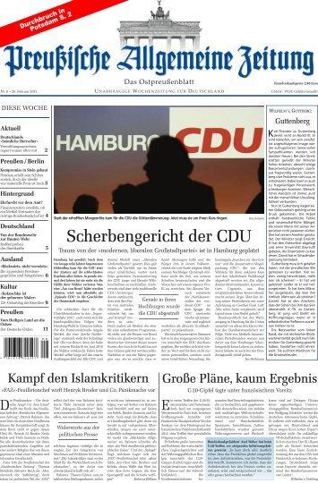 Folge 08 vom 26.02.2011 - Archiv Preussische Allgemeine Zeitung