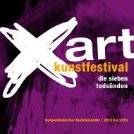 Burgenländischer Kunstkalender 2013-2015 - Burgenland.at