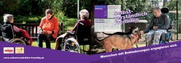 Menschen mit Behinderungen engagieren sich - Diakonisches Werk ...