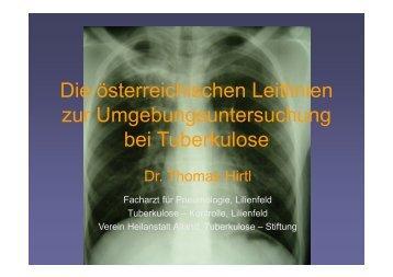 Vortrag Dr. Hirtl