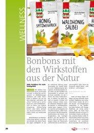 Bonbons mit den Wirkstoffen aus der Natur - Harnisch