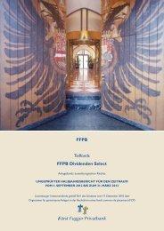 Halbjahresbericht - FÃœRST FUGGER Privatbank
