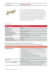 Firmenporträt CONFISERIE SPRÜNGLI Firmenprofil - Erklärung von ...
