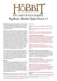 Der Hobbit Regelbuch - Games Workshop