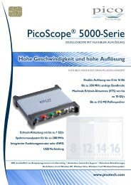 PicoScope® 5000-Serie - Farnell