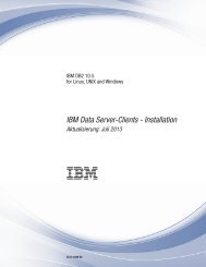 IBM Data Server-Clients - Installation